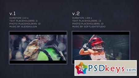 Sport Parallax Slideshow 20257930 After Effects Template