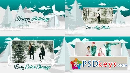 Christmas White 22747607 After Effects Template