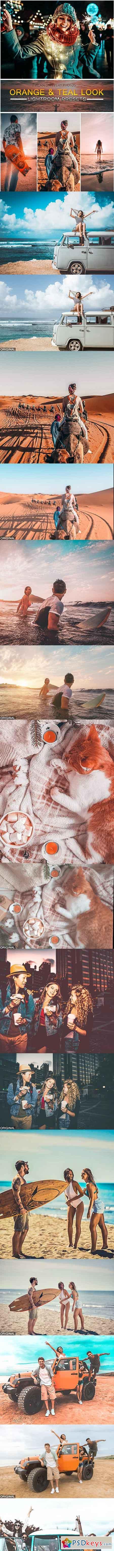 Orange & Teal Look Lightroom Preset 22982134