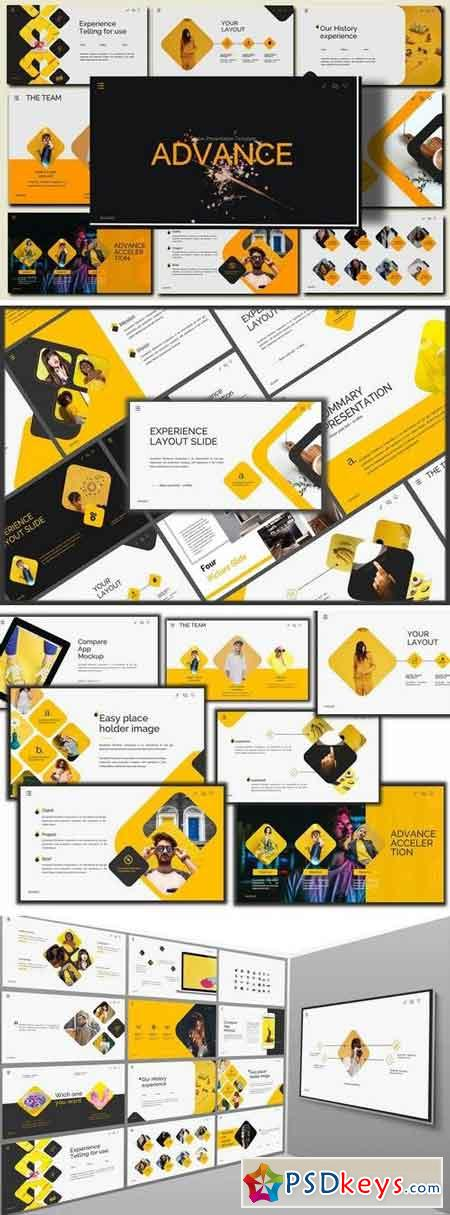 Advance - Lookbook PowerPoint