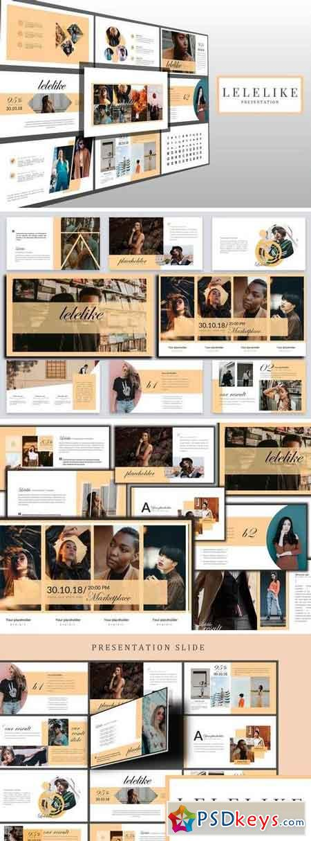 Lelelike Lookbook Google Slides Presentation