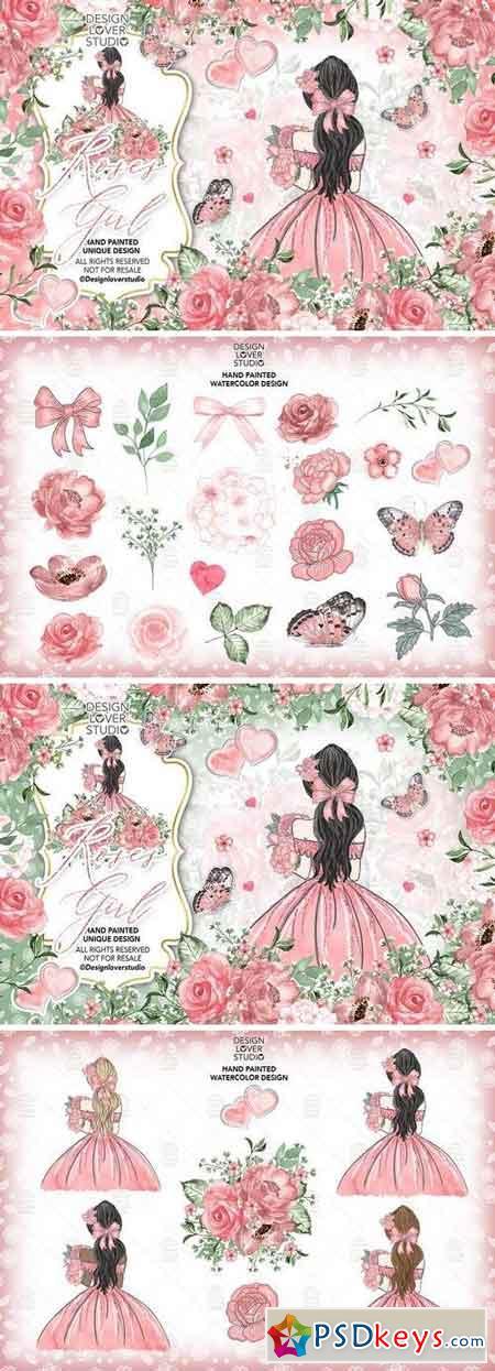 Roses Girl design 176719