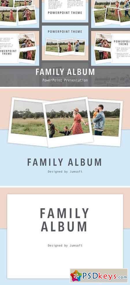 Family Album PowerPoint Template