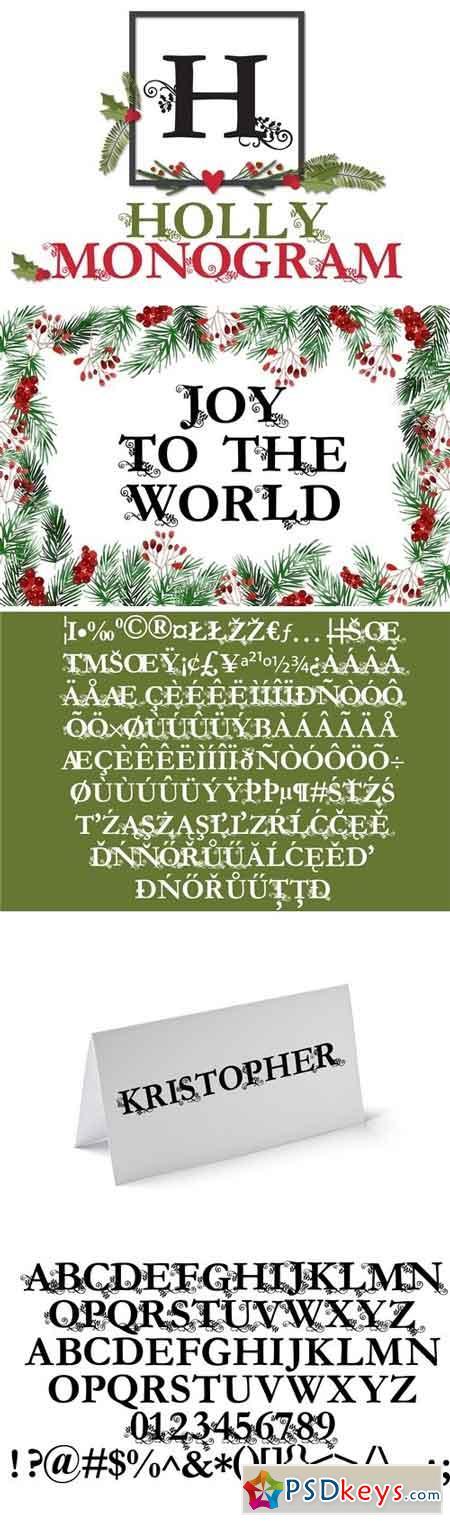 PN Holly Monogram 182400
