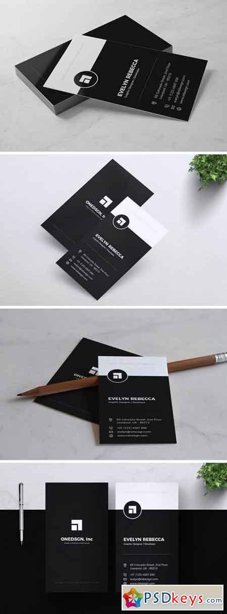 Minimalist Business Card Vol. 02