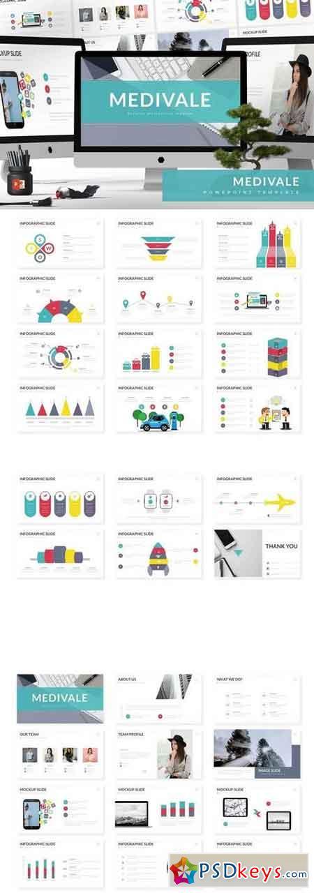 Medivale - Powerpoint, Keynote, Google Sliders Templates