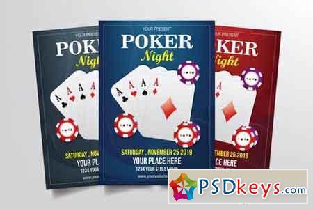 Poker Night Flyer Template 3291082
