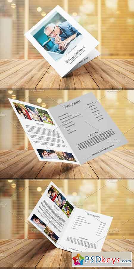 Funeral Program Template V27 3196839