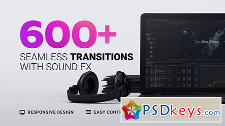 Transitions 22527100 After Effects Template