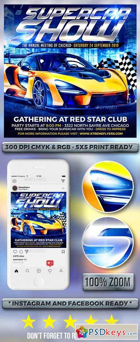 Car Show Flyer 22995257