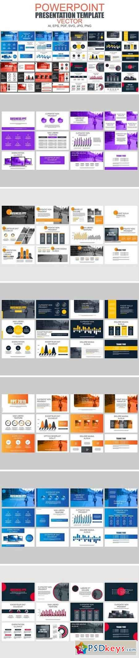 Business Powerpoint Slide Templates