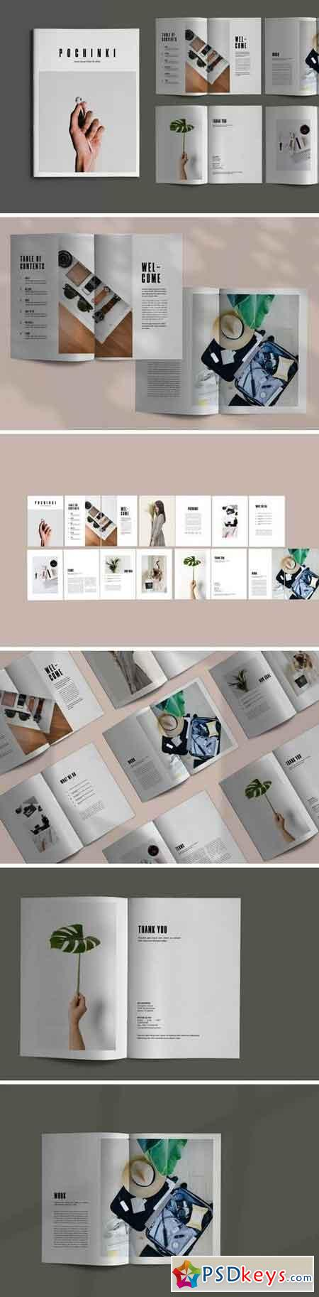 Pochinky - Brochure Template