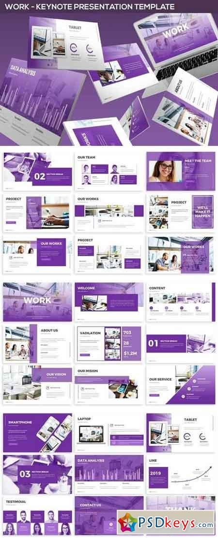 Work - Keynote Presentation Template