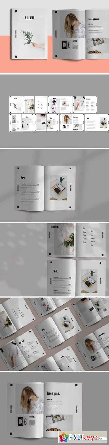 Millenial - Brochure Template