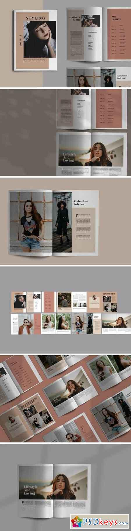 Styling Fashioned - Brochure