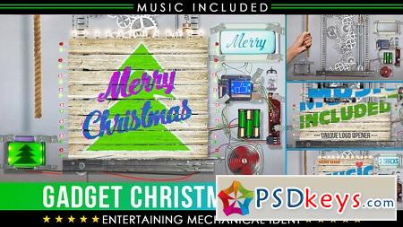 Christmas Logo Crazy Technology 23030508 After Effects Template