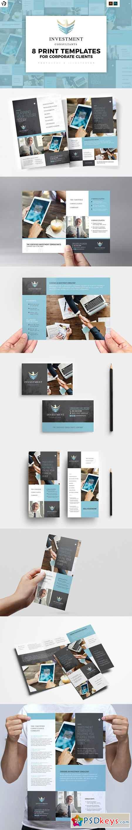 Financial Templates Pack 3029827