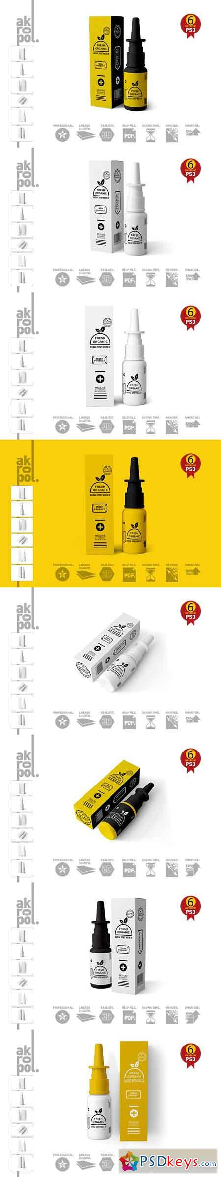 Nasal Spray Mock Up 3023784