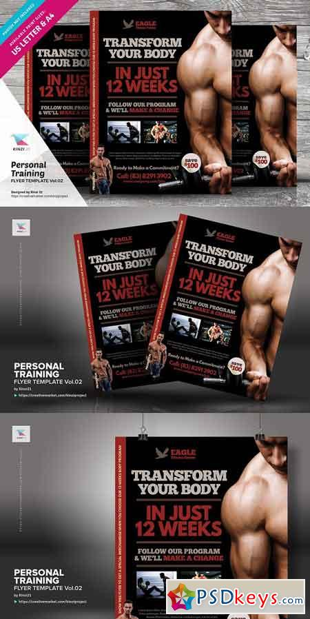 Personal Training Flyer Vol.02 3011824