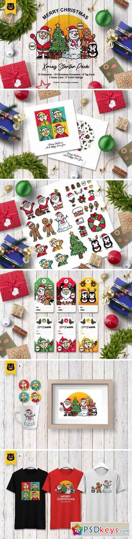 Christmas Character Bundle 846260