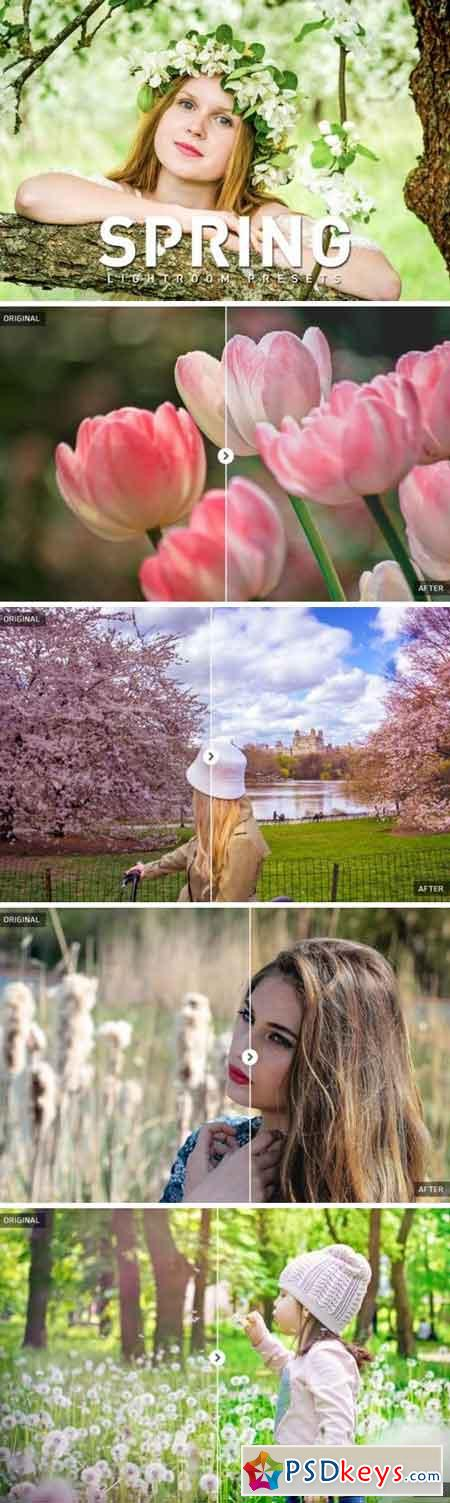 50 Spring Lightroom Presets 871009