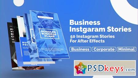 Business Instagram Stories 23042927 After Effects Template
