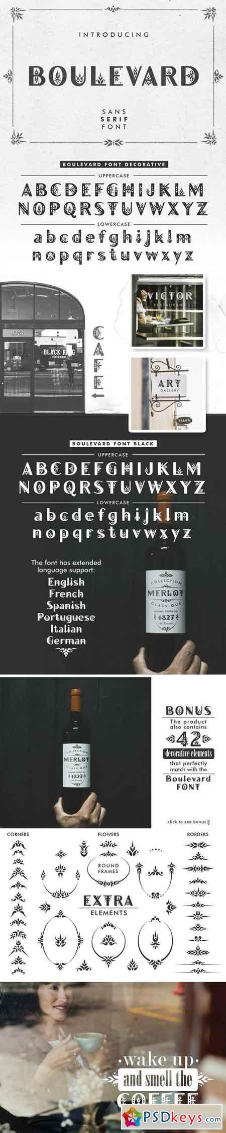 Boulevard - Sans Serif Font 2893946