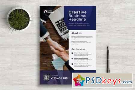 Corporate Business Flyer PSD and Vector Vol.2