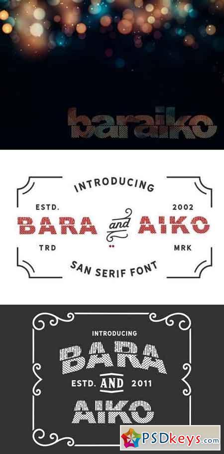 Baraiko Font