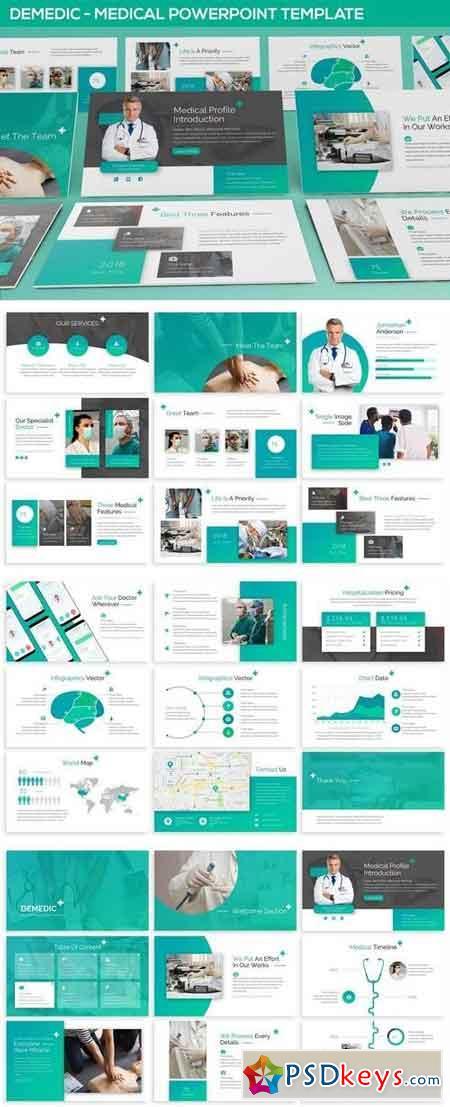 Demedic - Medical Powerpoint Template