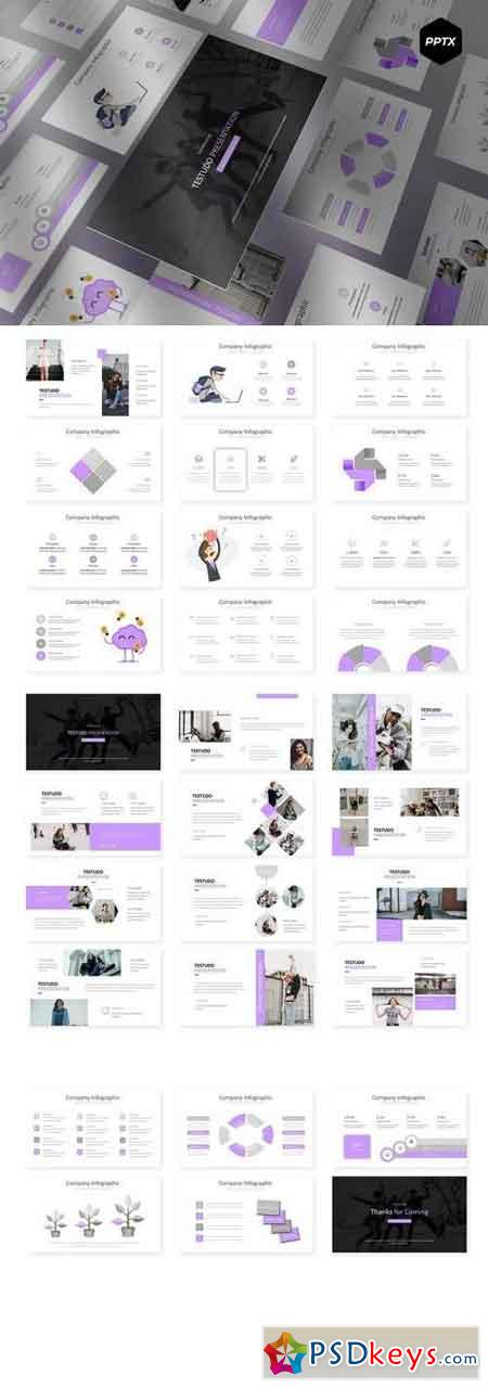Testudo - Powerpoint, Keynote, Google Sliders Templates