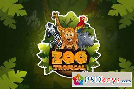 Zoo Tropical - Mascot & Esport Logo
