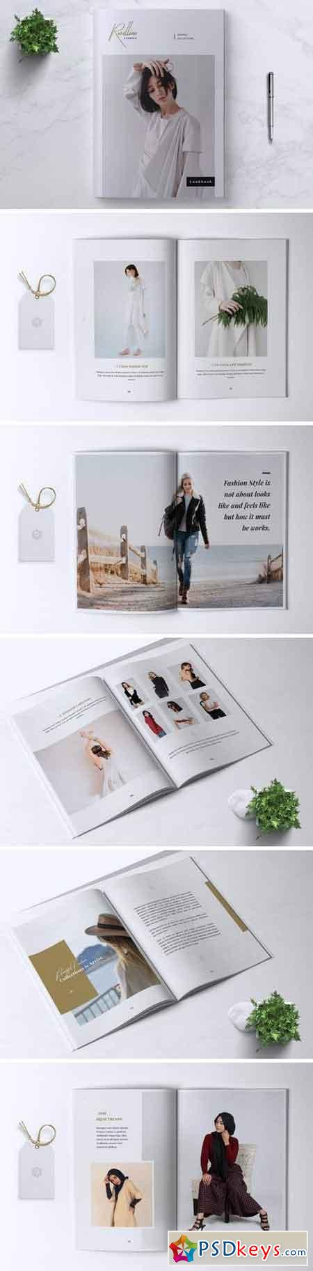 ROSELLINE Minimal Lookbook Fashion