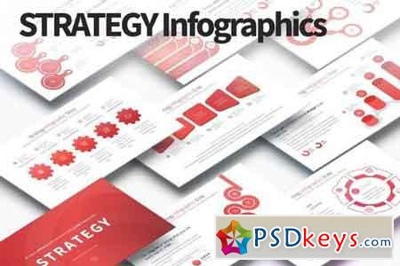 Strategy - PowerPoint Infographics Slides