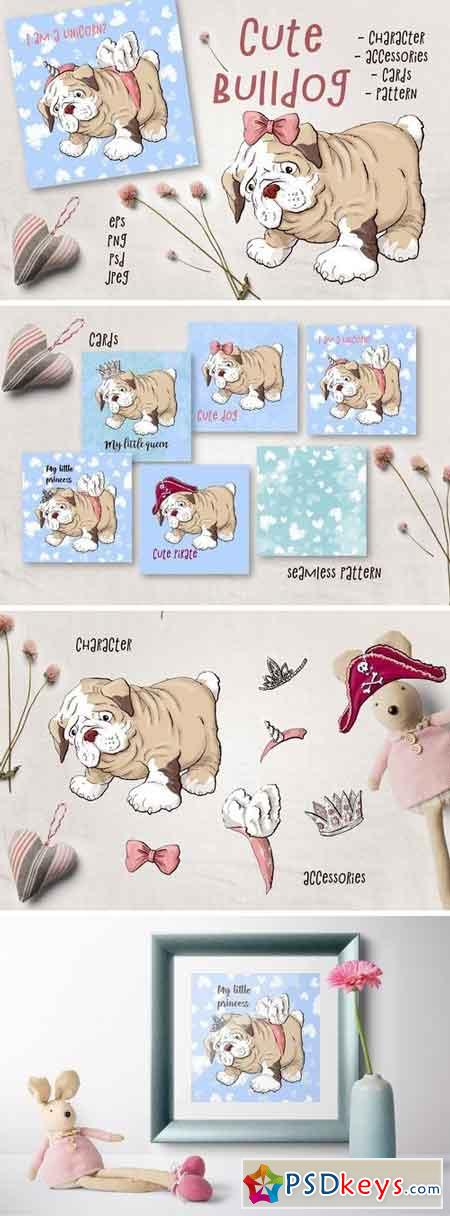 Cute Bulldog 2138033