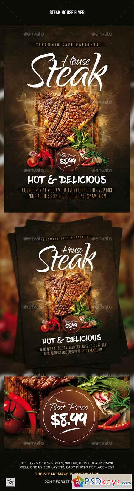 Steak House Flyer 23044824