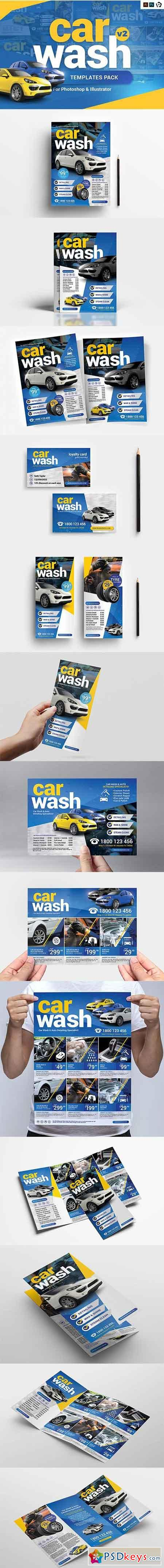 Car Wash Templates Pack Template 3195565