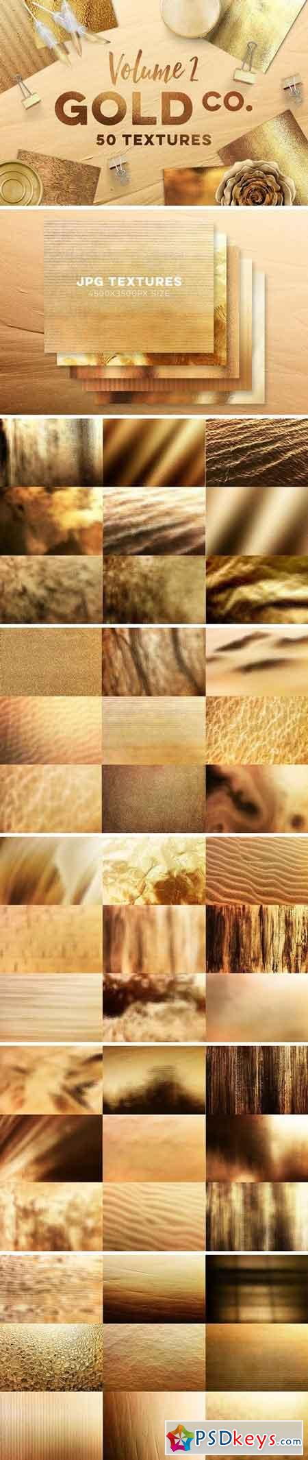 50 Gold Textures 3274373