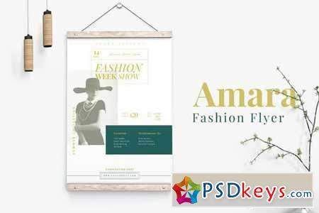 Amara Fashion Flyer