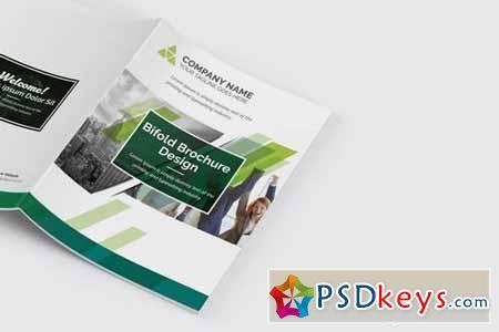 Bifold Brochure Green