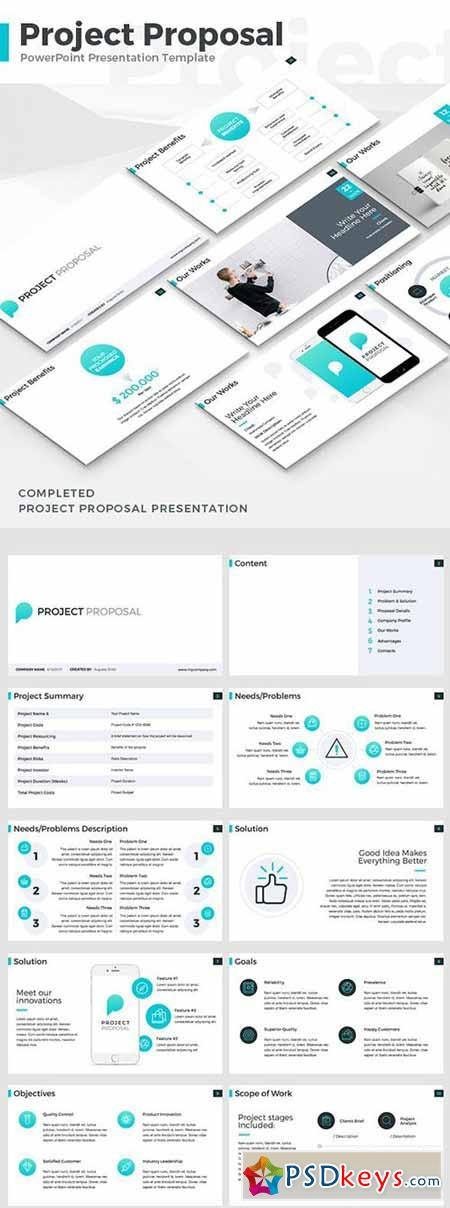 Project Proposal - PowerPoint Template 19336606