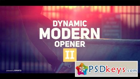 Dynamic Modern Opener II 19553339 After Effects Template