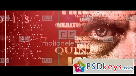 MotionElements Text Portrait Effect 10464737 After Effects Template