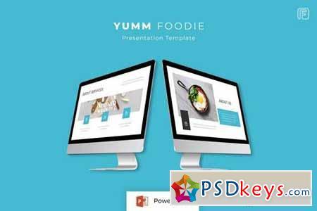 Yumm - Powerpoint, Keynote, Google Sliders Templates