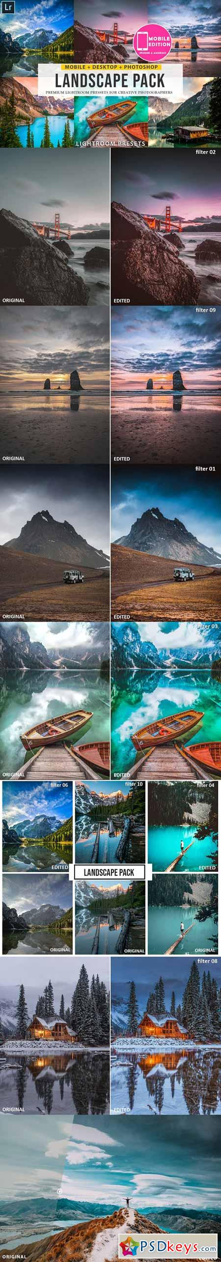 Landscape Lightroom presets 3304265