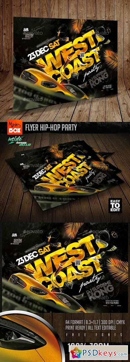 Flyer Hip-Hop Party 23010113