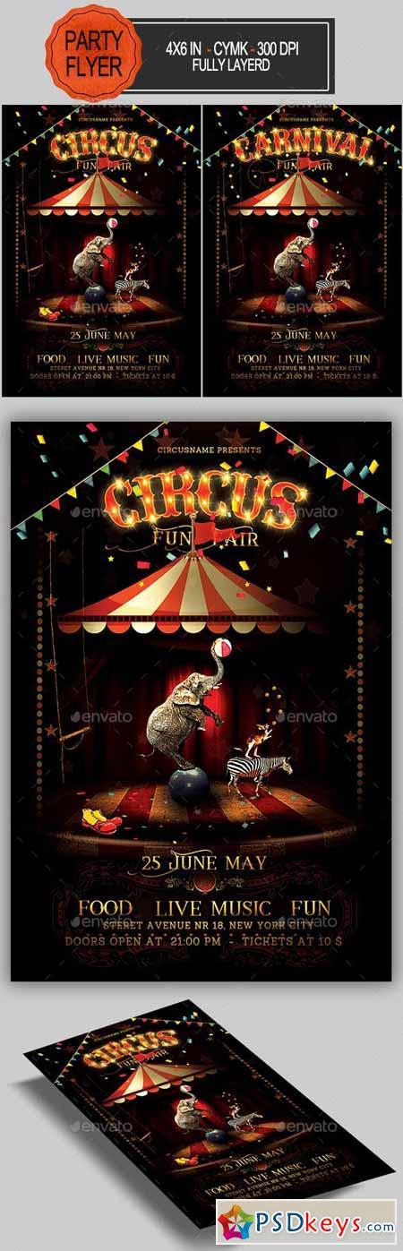Circus Flyer 23059928