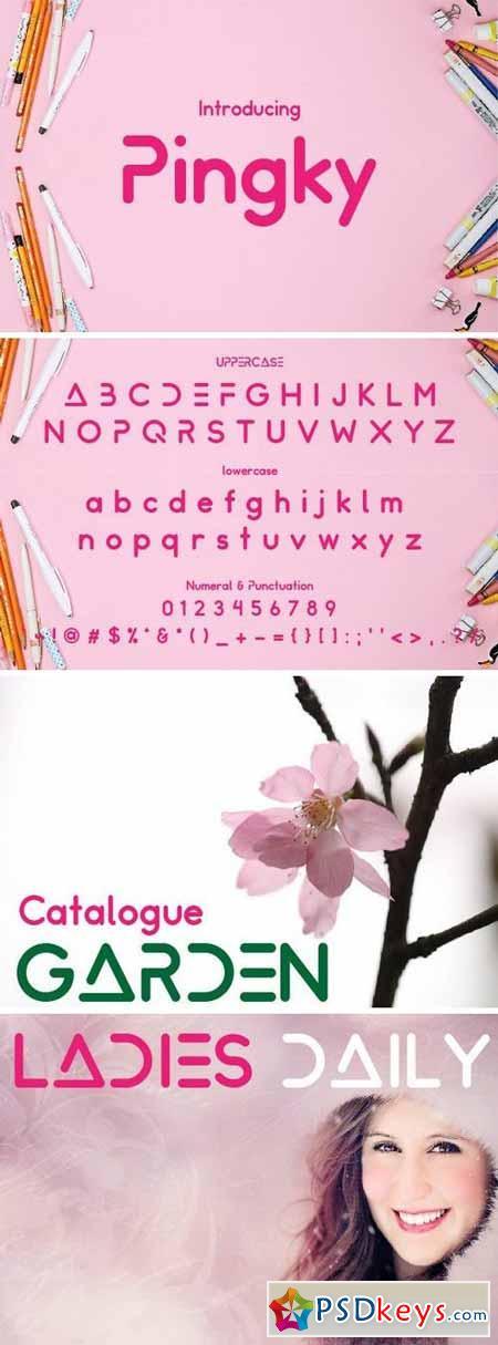 Pinky Font