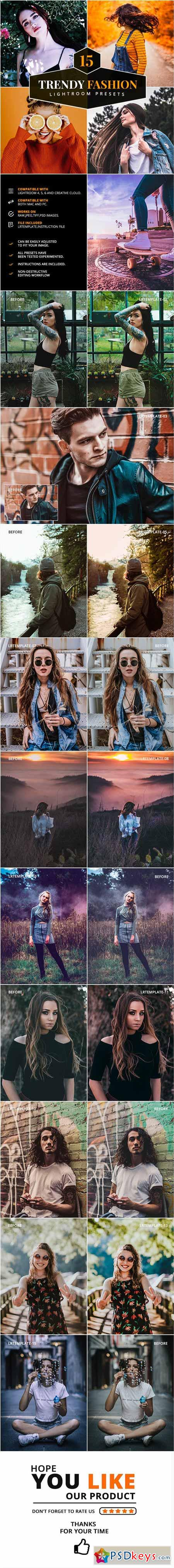 15 Trendy Fashion Lightroom Presets 23075289