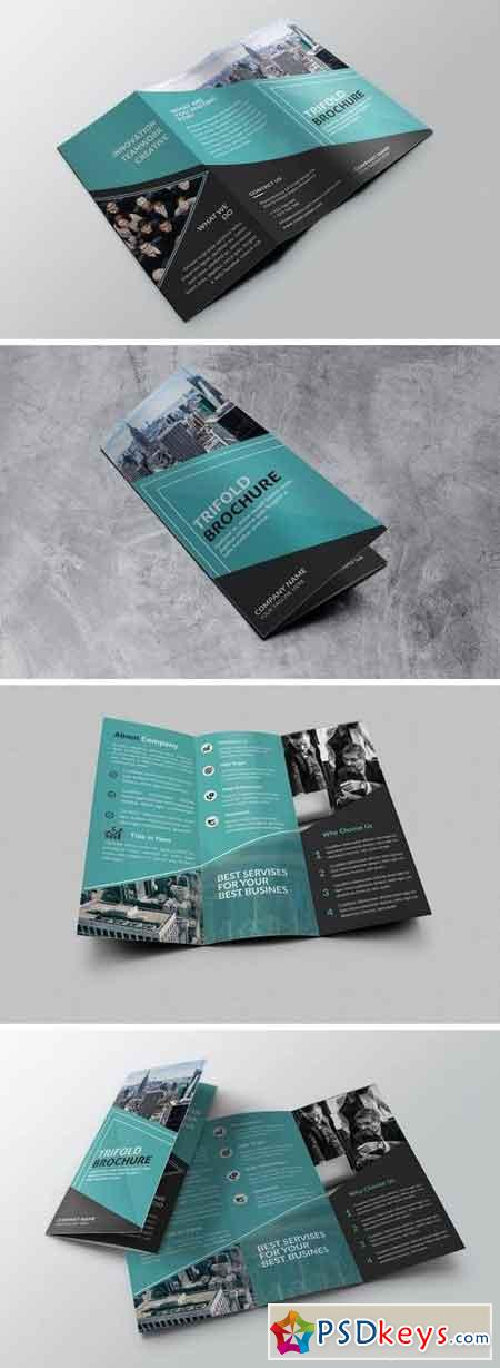 Best Business - Trifold Brochure